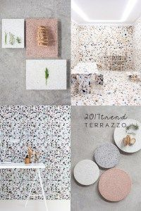 What do you think of the comeback of terrazzo finish? The terrazzo trend started last year, to explode this year both in interiros and design