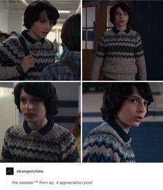 Mike Wheeler's tubular sweater | Stranger Things 2
