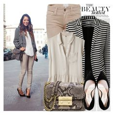 997. Blogger Style: Song of Style by chocolatepumma on Polyvore featuring polyvore fashion style Rebecca Taylor Current/Elliott Casadei MICHAEL Michael Kors Oris clothing