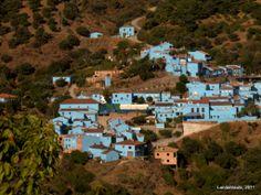 Júzcar (Málaga), primer pueblo pitufo del mundo