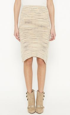 Missoni Beige And Multicolor Skirt