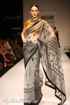 Soumitra Mondal designer handloom sarees