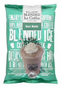 Iced Coffee Blends from My Gourmet Cafe!  [ MyGourmetCafe.com ] #coffee #gourmet #culinary