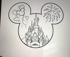 30 Magical Disney drawing sketch ideas & Inspiration - Brighter Craft