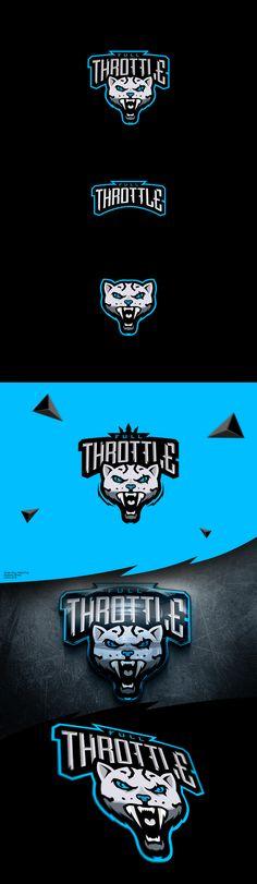 """E-sports logo """"Full Throttle"""" on Behance"""