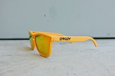 """Oakley Frogskins """"Pikes Gold"""" #sunglases #oakley #frogskins #pikesgold"""