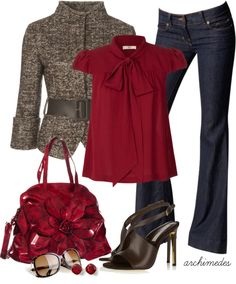 """""""Tweed"""" by archimedes16 on Polyvore"""