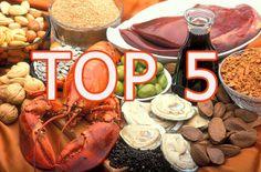 Los 5 alimentos con más hierro!!!: TOP 5