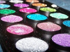 I almost can't handle this i LOVE it so much....ahhhhh glitter. bright colored glitter.