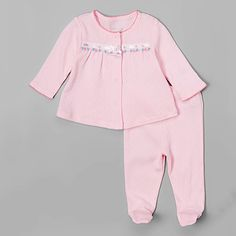 Baby Girl (NB-9M) Sterling Baby Rose Pajama Set