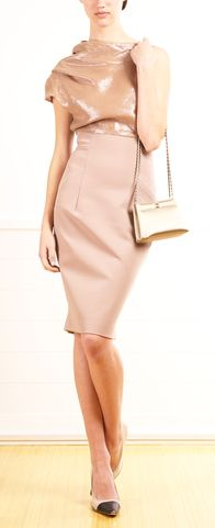 VICTORIA BECKHAM  DRESS. IT SAYS CLASS ALL THE WAY! LOVE IT. I'm short but a nice pair of heels will take care of that!