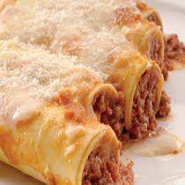 Maroulita: Κανελλόνια με κιμά Tasty, Yummy Food, Lasagna, Ethnic Recipes, Beautiful, Gastronomia, Kitchens, Recipes, Lasagne