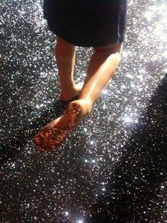 How To Glitter A Concrete Floor Diy For Home Glitter