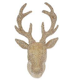 Home & Tech - Selfridges Home Tech, Coach House, Festival Decorations, Deer, Bling, Metal, Christmas, Xmas, Fairytale