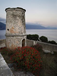 Venetian Lighthouse at Fiskardo #travel #Greece #Kefalonia