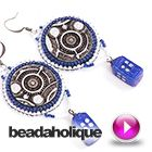 Tutorial - Videos: How to Make the Adrift in Time Earrings   Beadaholique