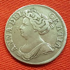 Catawiki online auction house: Reino Unido - Shilling 1711 Anna - silver