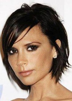 edgy bob haircuts 2014 | 33. Victoria Beckham Bob Hairstyle: Short, edgy bob