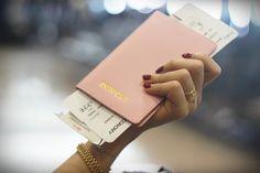 Light Pink Passport Holder