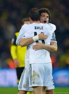 Bale & Pepe Real madrid  Champions league