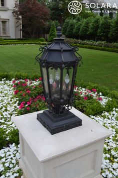 Wrought Iron Electric Lantern design