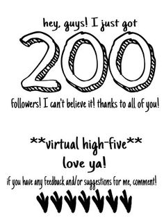 So since I got to 200 followers, I'll do a follow spree! (: The first 10 comments get a follow! Xx