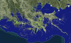And if you thought the hurricanes and floods that have been ravaging southern Louisiana were bad before, just wait.