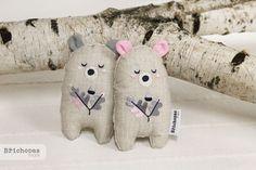 tiny bears / Břichopas toys
