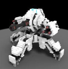 Voxel Artist - Game Designer - Urban Planner