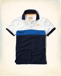 7f04277542569 Polo con ícono en bloque de colores Hooded Sweatshirts