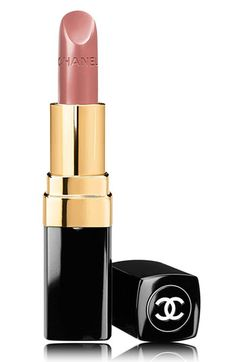 CHANEL ROUGE COCO HYDRATING CRÈME LIP COLOR | in Plumetis for a natural lip color
