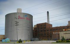 Pioneer Sugar plant in Sebewaing, Michigan... They process sugar beets, only three other plants in the us process sugar beets.