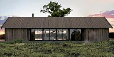 Lysthus: created for the Norwegian landskap. Rural House, House In The Woods, Modern Cottage, Cottage Living, Cabin Design, Modern House Design, Timber Architecture, Installation Architecture, Shed Homes
