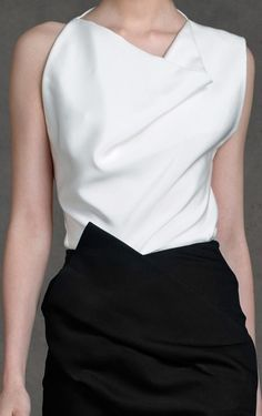 The structure on this beauty is impeccable. Love it. Donna Karan, Pre-Spring 2013