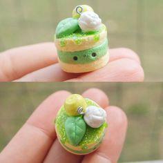 (~ ̄▽ ̄)~Lime Cake