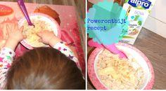 Ontbijt recept voor een baby vanaf 6 maanden: Havermout of Brinta pap als gezond ontbijtje met fruit voor je kindje