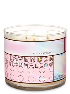 Lavender Marshmallow Candle by Bath & Body Works