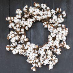 Wild Cotton Wreath