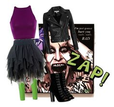 """""""female Joker"""" by organicmama ❤ liked on Polyvore featuring Jacob Cohёn, Barbara Bui and IRO                                                                                                                                                                                 More"""