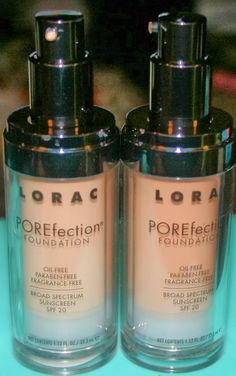 Lorac Porefection Foundation Review and Swatches | Crazy,Beautiful Makeup