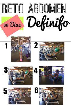 5 series * 15 repeticiones. 1 min de descanso entre series. 2 min de descanso cuando se cambia de ejercicios. Abdomen con peso para mejorar apariencia de la PIEL SUELTA. Cada ejercicio
