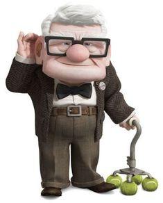 Disney Pixar, Disney Up, Walt Disney, Carl Fredricksen, Fox Character, Character Design, Up Carl Y Ellie, Up 2009, Character Illustration