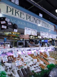 1000 images about seattle on pinterest seattle for Famous fish market in seattle