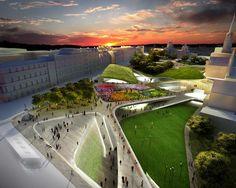 Diller Scofidio + Renfro's Aberdeen Garden City Proposal Nixed
