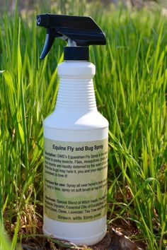 The GWE Fly & Bug Spray is the all-natural solution to pesky insects. Flies, mosquitoes, gnats, and other insects are rapidly deterred by the scent of our spray. While they may hate it, you and your equine partner are guaranteed to love it! For horses and humans. 32oz bottle with sprayer.
