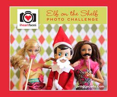 """A """"Just for Fun"""" Elf on the Shelf Photo Challenge hosted by iHeartFaces.com Share your elf photos anytime through Dec. 28, 2012. #Christmas"""