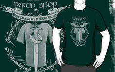 Baggins' Pawn Shop- LOTR Parody  by spacemonkeydr - RedBubble