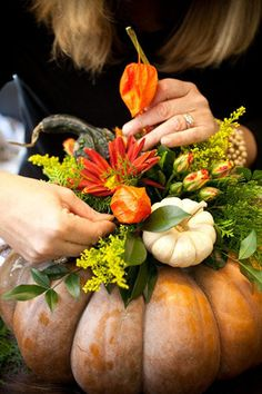 7 Ways to Decorate with Pumpkins This Fall - Yahoo Shine