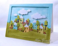 Home and Hearth Summer Scene by kittie747 - Cards and Paper Crafts at Splitcoaststampers