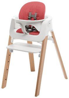 Stokke Steps Children's Highchair – Red